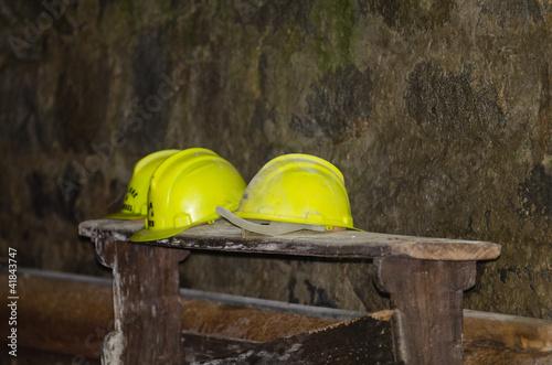Dentro la miniera abbandonata