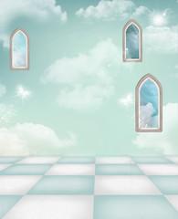 azure room for compositions © Ellerslie