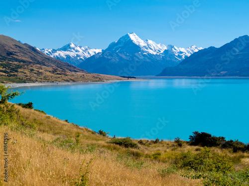 Fototapeten,berg,nz,south island,alps