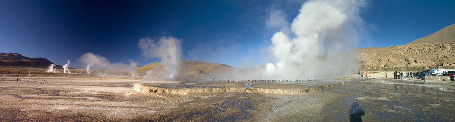 Geyser del Tatio, Chile