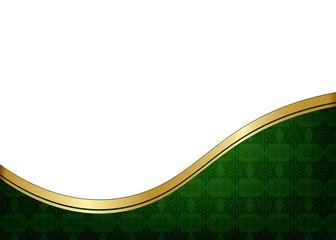 Yeşil kutlama kağıdı