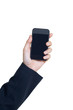 Business Hand holding smart phone