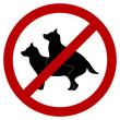 No Doggie Breeding Sign