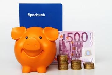 Sparbuch & Sparschwein