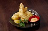 prawn Ebi tempura bowi poster