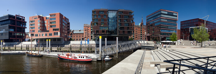 Hafencity Hamburg mit Magellan-Terrassen