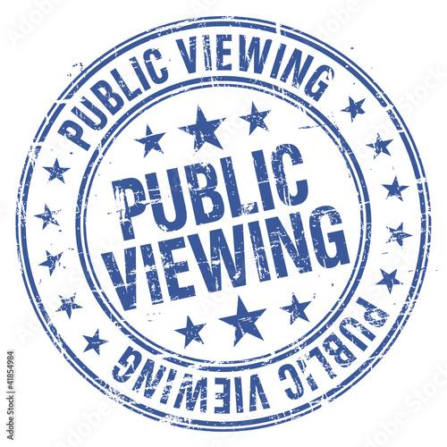 Stempel - Public Viewing (I)