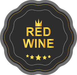 LABEL RED WINE