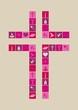 Karte Religion Mädchen
