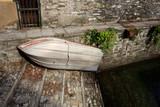barca a Carate Urio - lago di Como poster