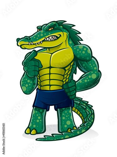 Strong Alligator