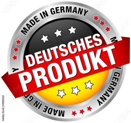 "Button Banner ""Deutsches Produkt"""