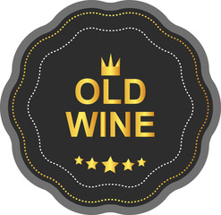 LABEL OLD WINE