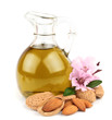 almond oil and almond nuts