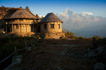 Beautiful house near Himalayan when see from Sarangkot
