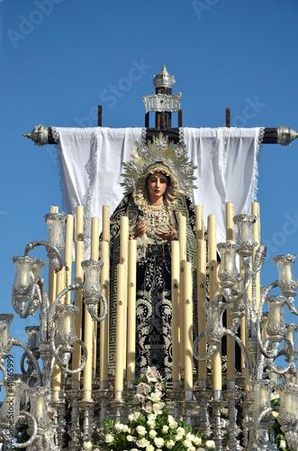 Semana Santa en Cádiz, Andalucia,España