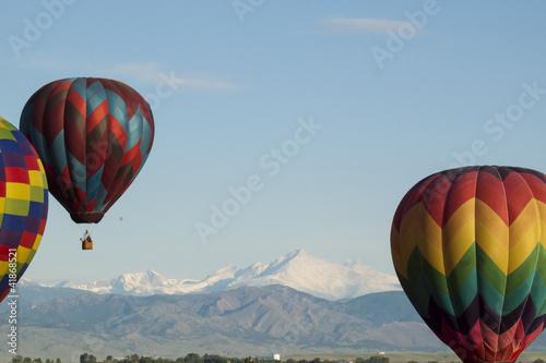 Foto op Aluminium Ballon Balloon Festival