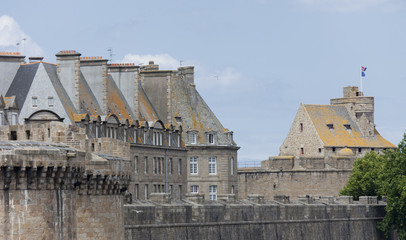 Walled city Saint-Malo