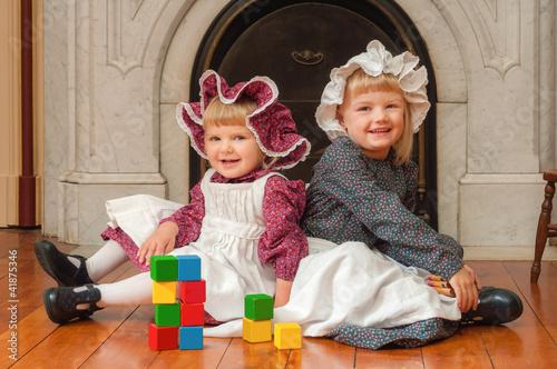 Victorian Looking Sisters