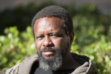 portrait african american man