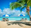 Fototapete Paradise - Tropisch - Wasser / Strand
