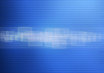 Abstract technology background blue
