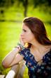 ritratto di ragazza - profilo