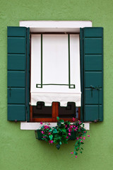 Venice window, Burano