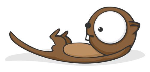 Big-eyed otter