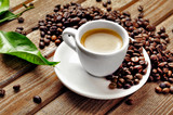 Hot cup coffee - 41883788