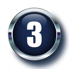 Üç mavi ikonda