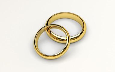 anelli nuziali 3D
