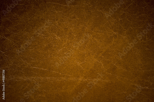 Brown imitation leather background texture