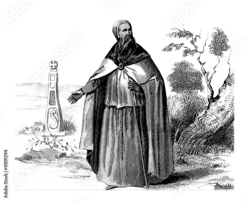Celtic Priest - 7th Century