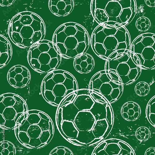 seamless football pattern, background