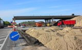Fototapety Construction of road bridge