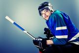 Fototapeta hokej - zawodowiec - Mężczyzna