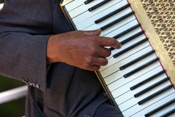 Musiker im Englischen Garten in München