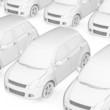 White Modell Parking
