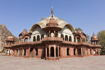 Cenotaph of Maharaja Bakhtawar Singh, City Palace, Alwar, India.