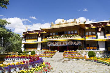 The Norbulingka, Lhasa, Tibet