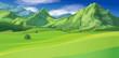 Vector of mountain landscape