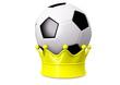 Fussball auf Krone