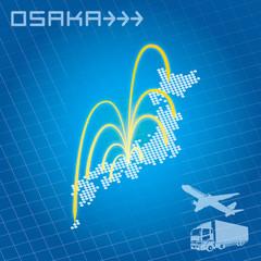 大阪から日本全国へ