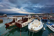 Fototapeta Europa - Dalmacja - Jacht