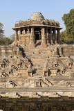 Sun Temple at Modhera, Gujarat, India. poster
