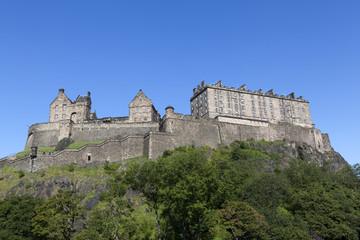 Edinburgh Castle in Scotland.