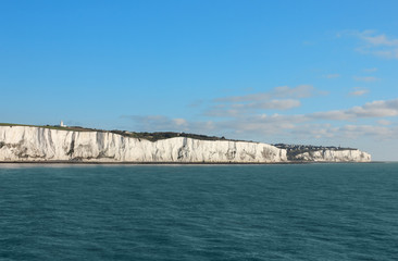 Last cliffs of the United Kingdom near Dover