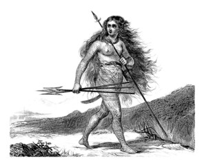 Woman Warrior - Ethnic