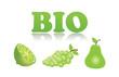 Fruits biologiques